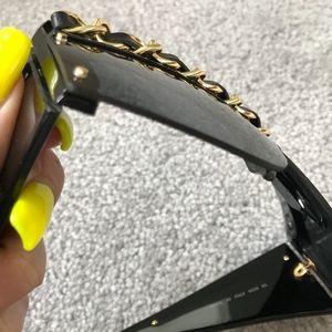 CHANEL Accessories - Vintage Chanel 90s Chain Sunglasses